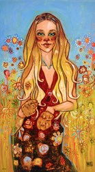 The Lioness by Todd White - Hand Finished Limited Edition on Canvas sized 19x34 inches. Available from Whitewall Galleries